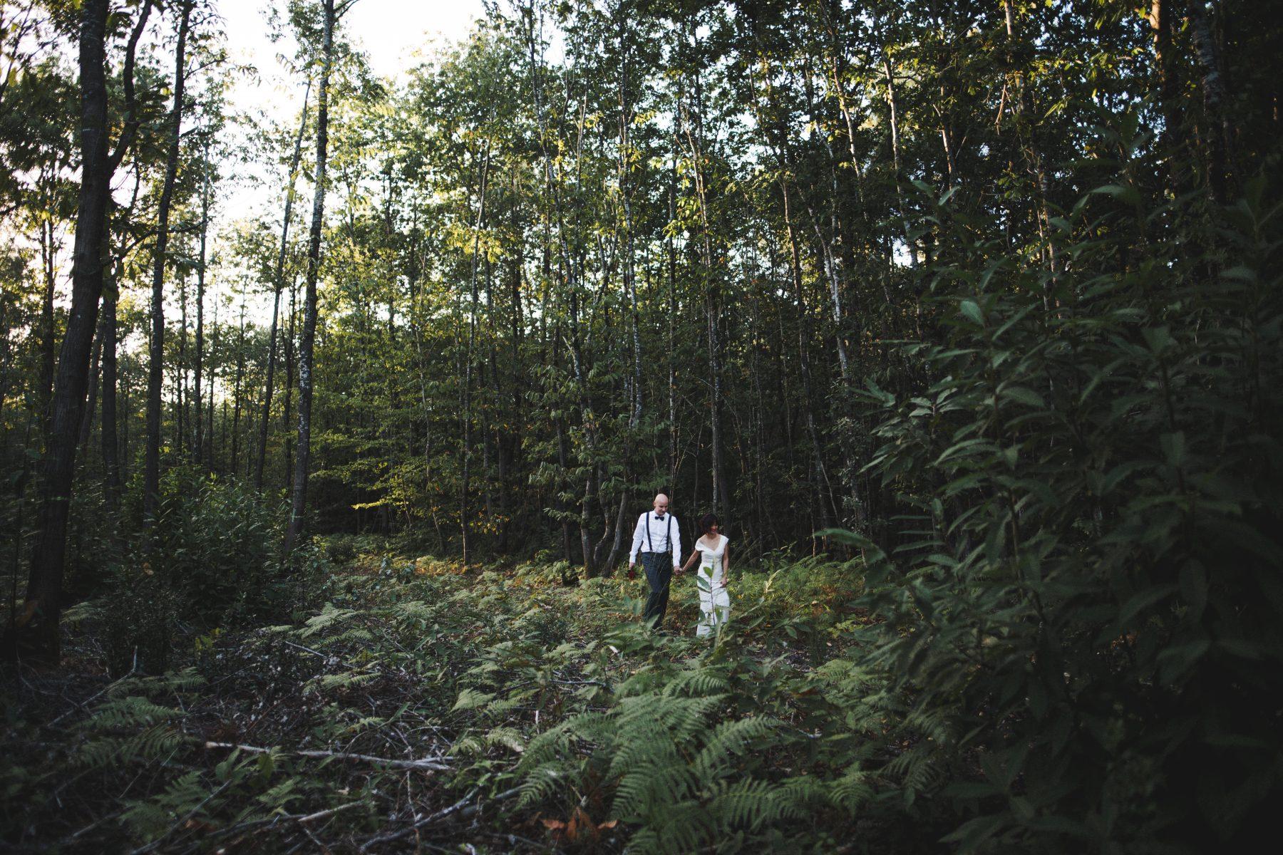Séance couple en forêt - Stéphanie et Denis